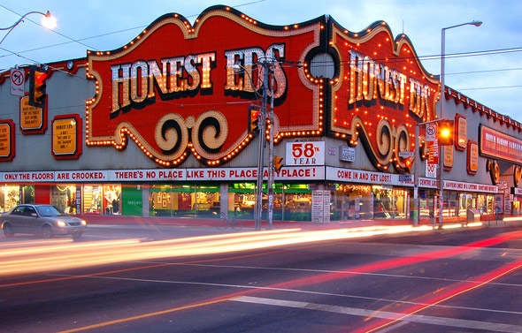 Honest Ed's Toronto photo