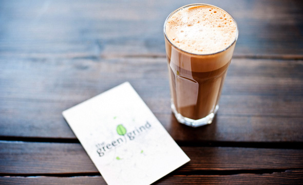 The Green Grind Mocha