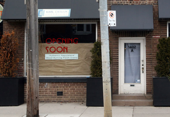 Pizza in Leslieville, Fulls of Beans on Dundas West, Ciao Wine Bar in