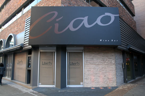 Ciao Wine Bar In Yorkville, the shuttered Flow is being reinvented by the