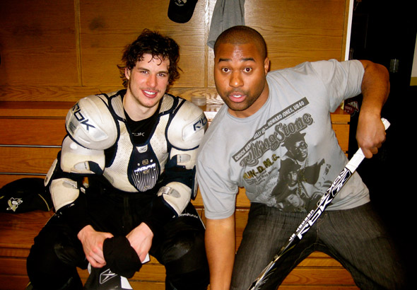 Sidney Crosby and Cabbie