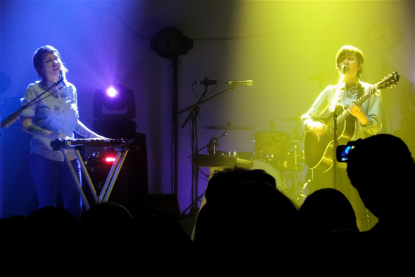 Tegan and Sara at Massey Hall