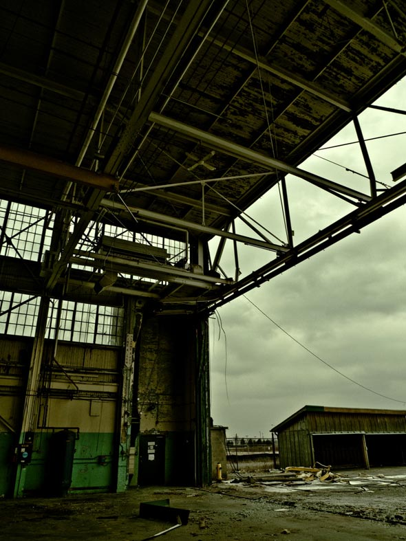 Downsview hangars