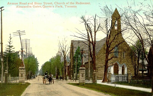 Old Postcard Toronto Vintage