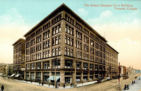 Vintage Toronto Postcard