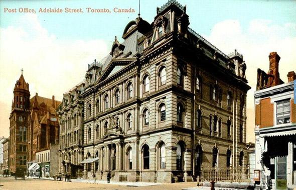 Lost Toronto postcard
