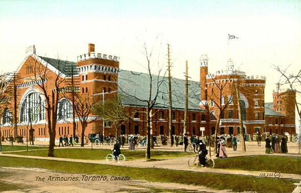 Toronto Armouries Postcard