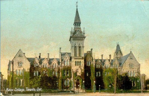 Knox College toronto