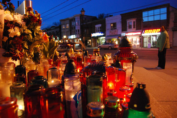roncesvalles mourns