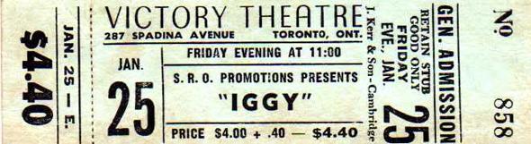 Victory Burlesque Concert ticket