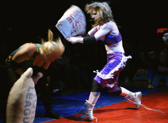Pillow Fight League bout in Toronto