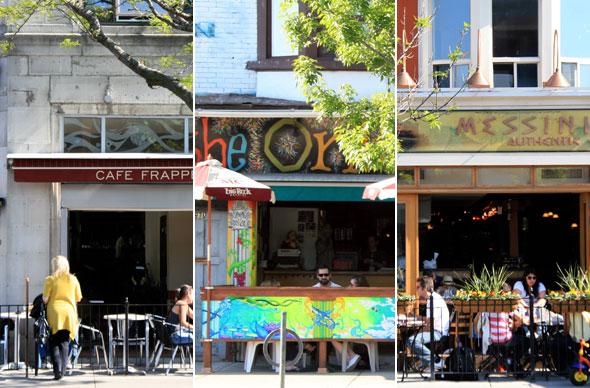 Toronto Patio Guide The Danforth