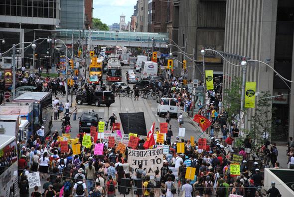 G20 Protest Native