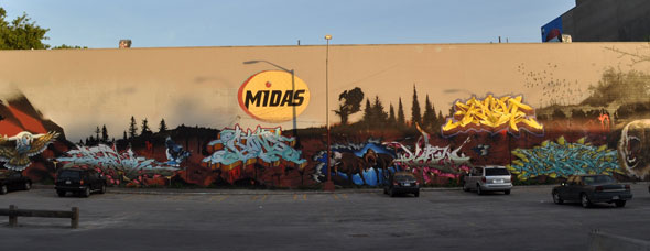 Midas Graffiti