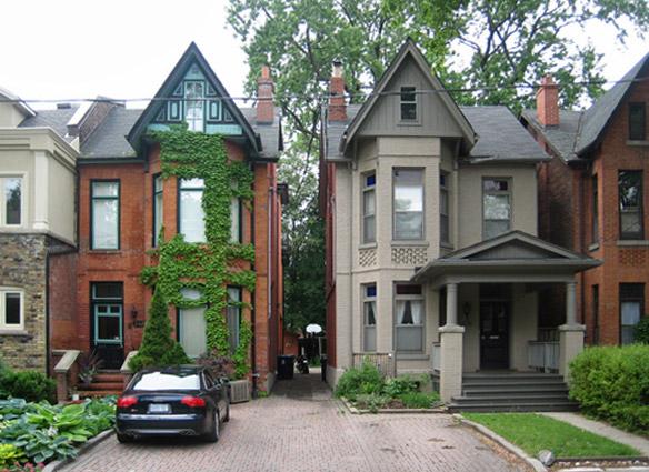 Nostalgia tripping toronto 39 s bay and gable architecture for Toronto house plans