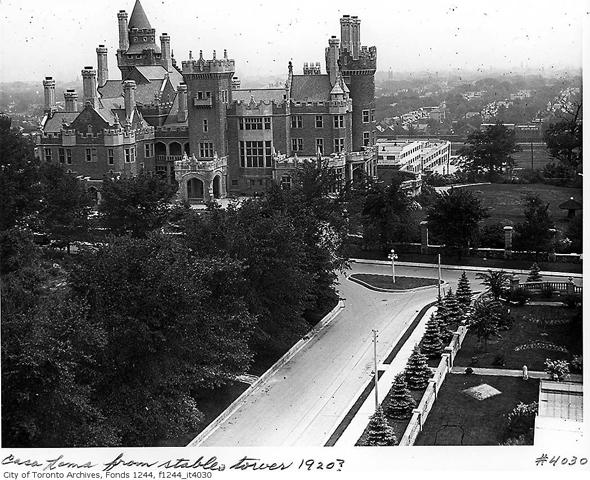 toronto, 1920s, sunnyside, cabbagetown, casa loma, union station, suburban growth