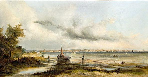 Toronto skyline 1875