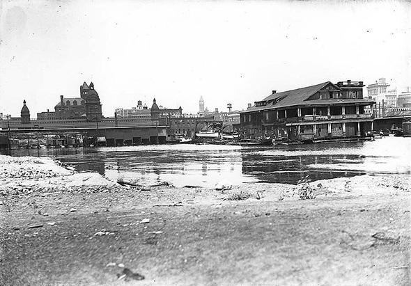 Toronto skyline 1910