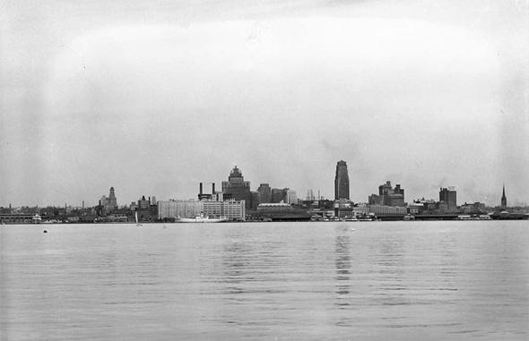 Toronto skyline 1930