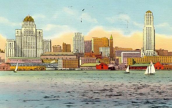 Toronto skyline 1940