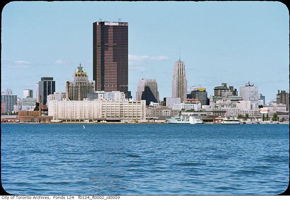 Toronto skyline 1968