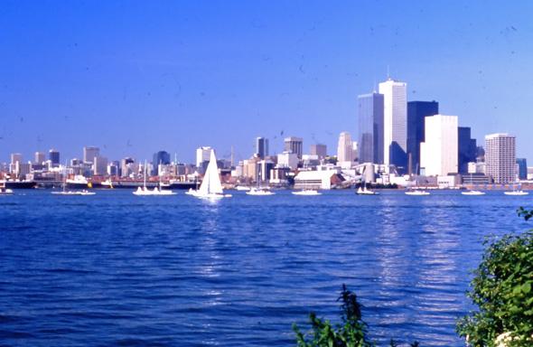 Toronto skyline 1973
