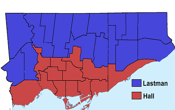 Toronto election results 1997