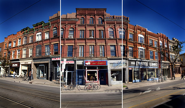 Queen West block