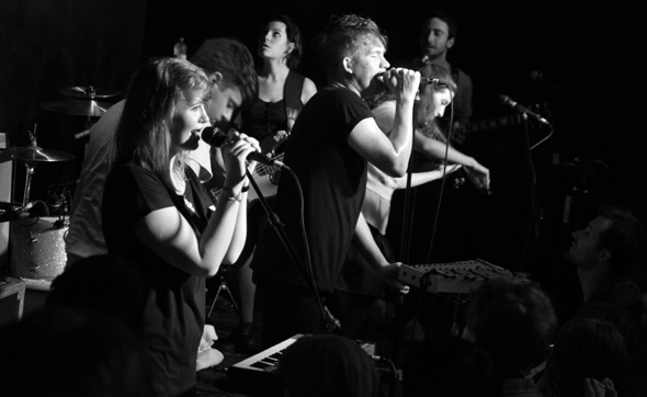 Los Campesinos at Wrongbar