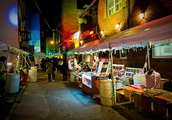 Nuit Blanche Market