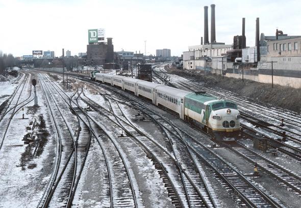 1980s trains toronto