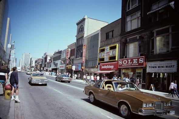 1980s Yonge Street