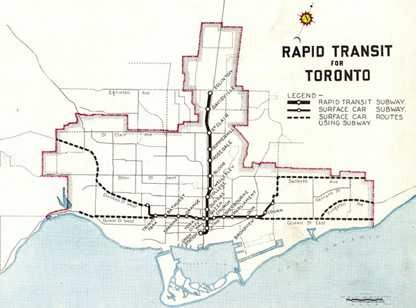 Proposed Subways Toronto