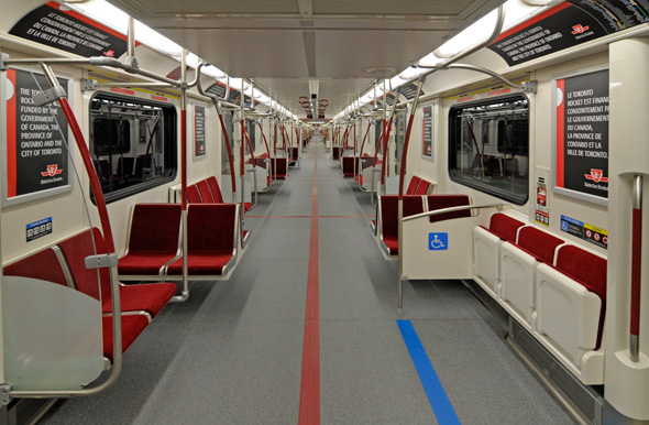 Ttc Unveils New Quot Rocket Quot Subway Trains