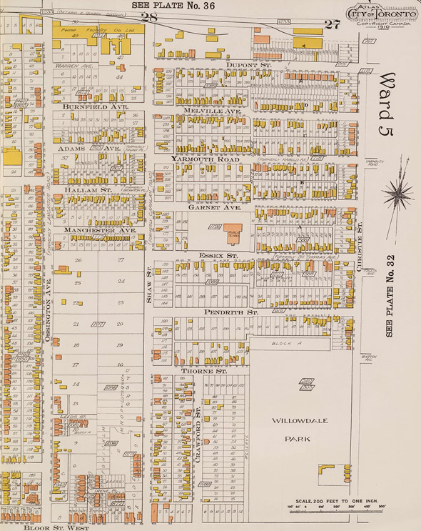 Goad's Fire Insurance Atlas Toronto