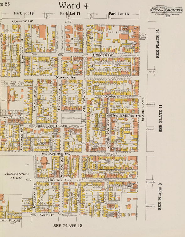 Goad's Fire Atlas of Toronto