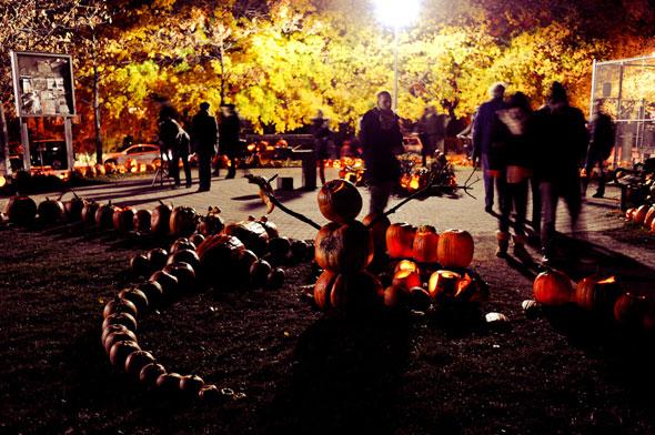The Sorauren Pumpkin Parade