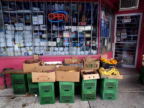 grocery at Wallace and Lansdowne