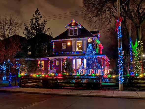 Toronto Christmas lights