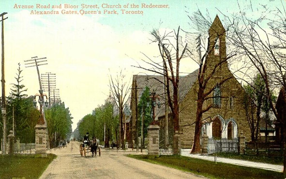 20101227-1901-Avenue_Road_and_Bloor_Street,_Church_of_the_Redeemer,_Alexandra_Gates,_Queen's_Park,_Toronto.jpg