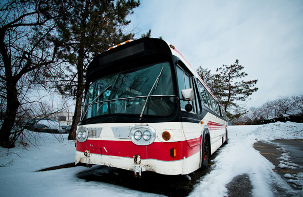 TTC Bus photos