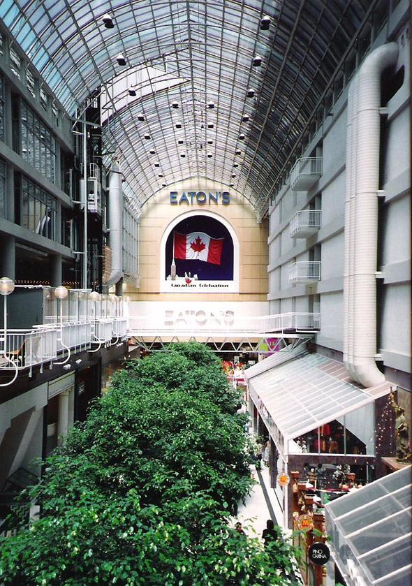 Eaton Centre 1990s