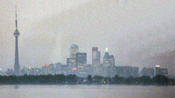 Toronto skyline 1990s