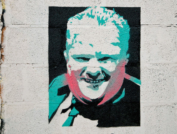 Rob Ford Graffiti Toronto