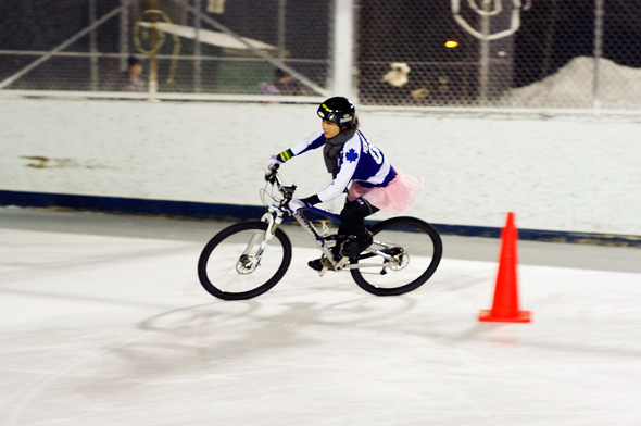 Ice Bike Race Toronto Icycle 2011