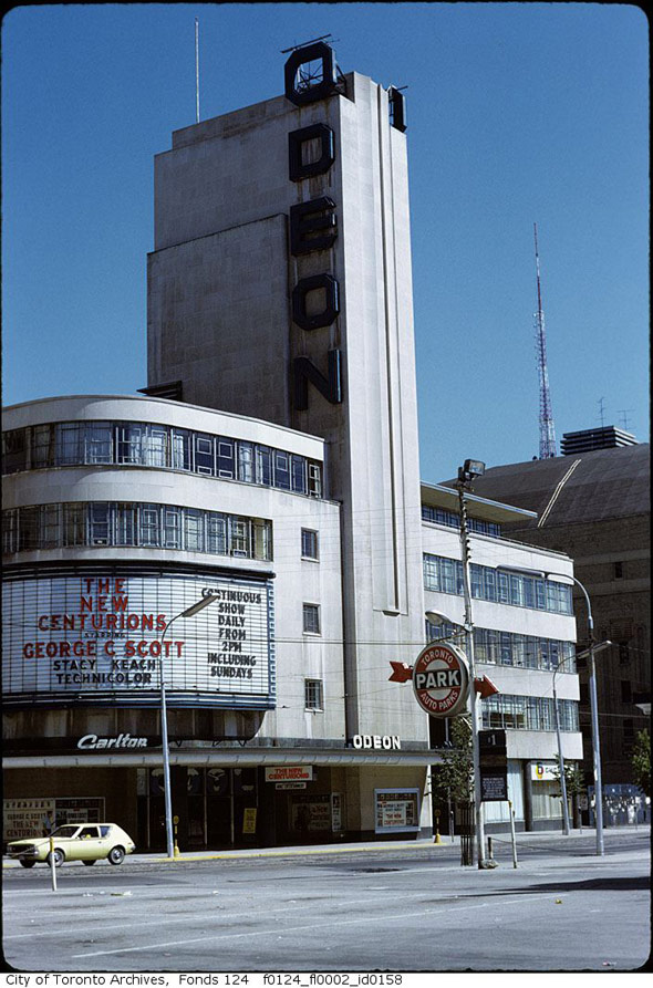 the lost movie theatres of toronto