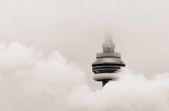 CN Tower Clouds