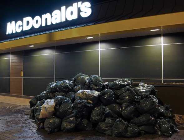 McDonald's Garbage