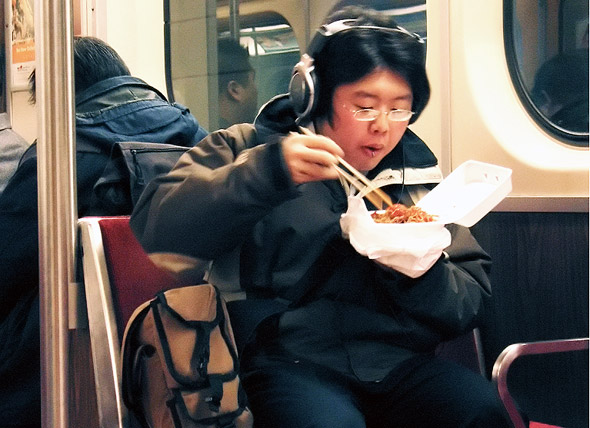 TTC ban food eating