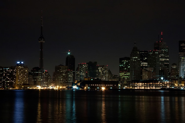 Earth Hour Toronto 2009